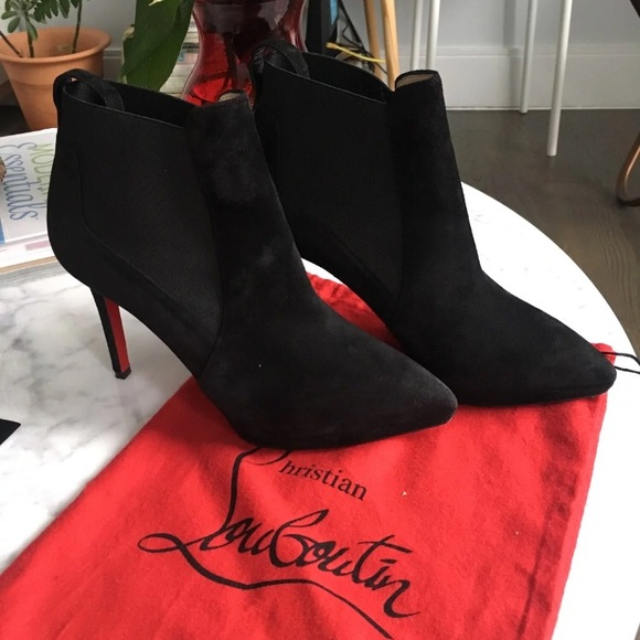 cheapest price uk store detailed pictures Christian Louboutin Crochinetta Bottie